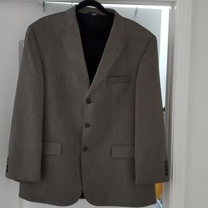 Mens Blazer , Blackish-tan